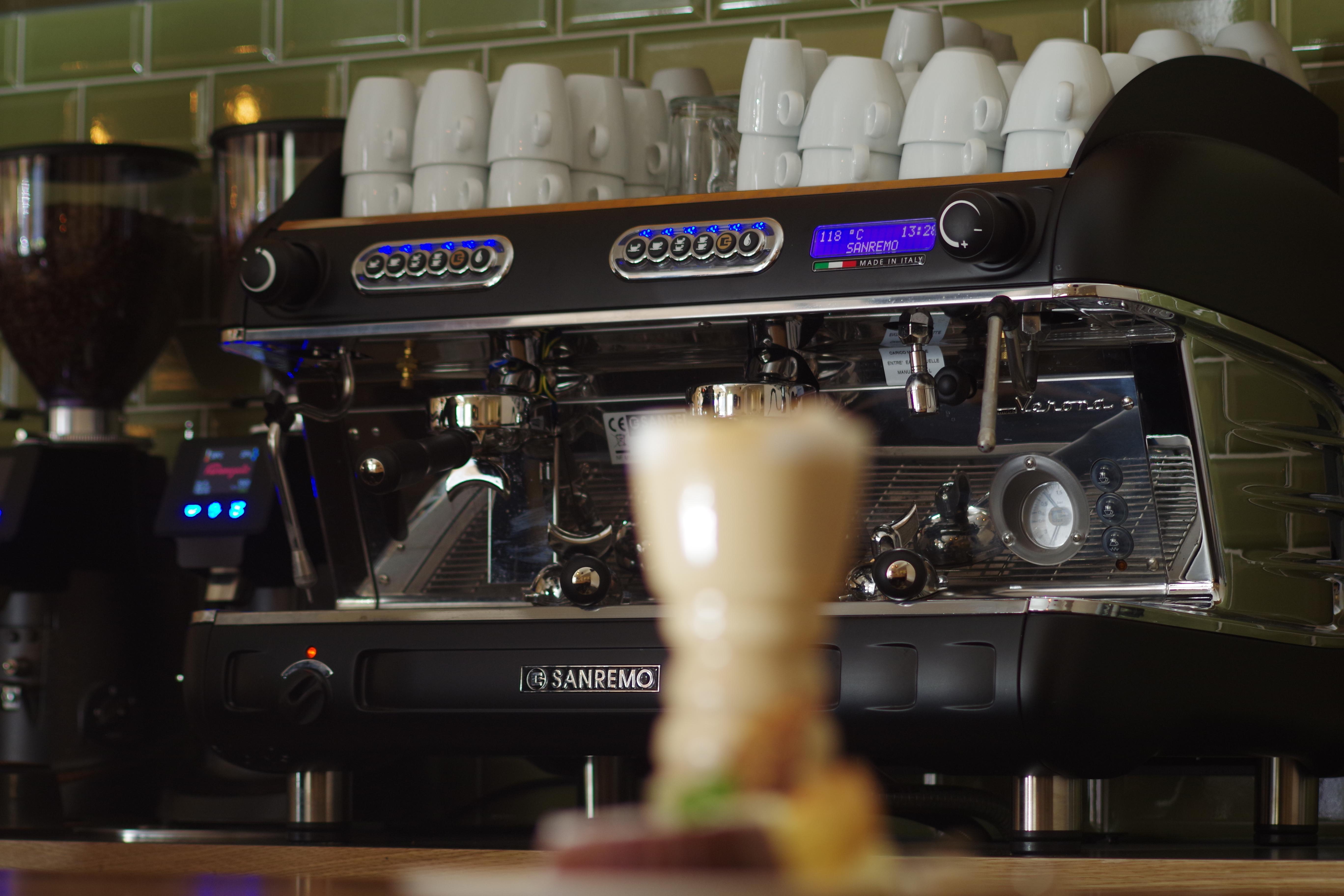Verse koffie in Café Kruller