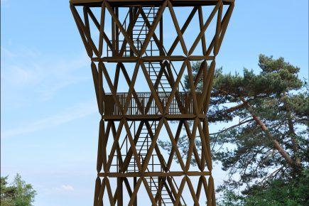 De uitkijktoren bij het Kootwijkerzand