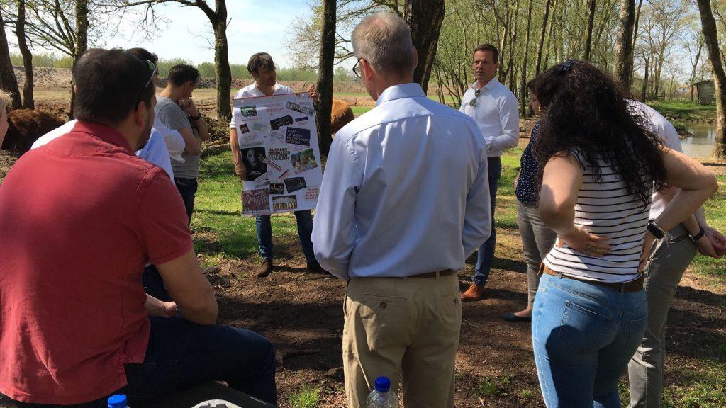 Vergaderen in De Boshut op de Veluwe