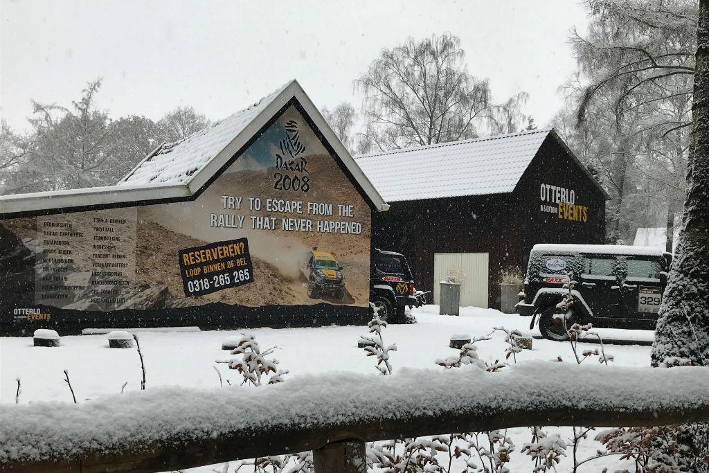 Otterlo Events sneeuw