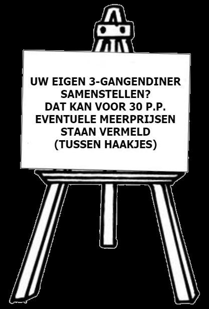 Schildersezel menu