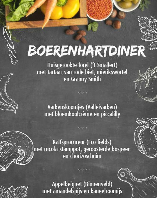 boerenhart menu 2