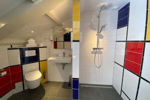 Piet Mondriaan badkamer