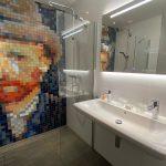 Kamer Vincent tegels in badkamer